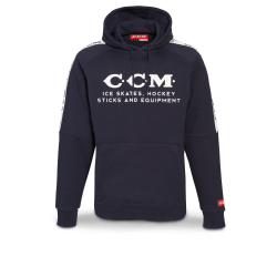CCM Heritage logo fleece Hood SR