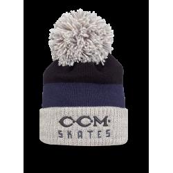 CCM Vintage Skates Logo Pom Knit